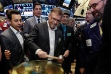 Financial Markets Wall Street Shopify IPO