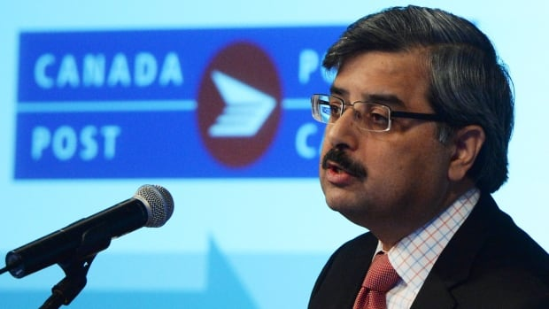Canada Post president and CEO Deepak Chopra is one of 33 federal Conservative appointees the Liberal government has asked to step aside voluntarily.