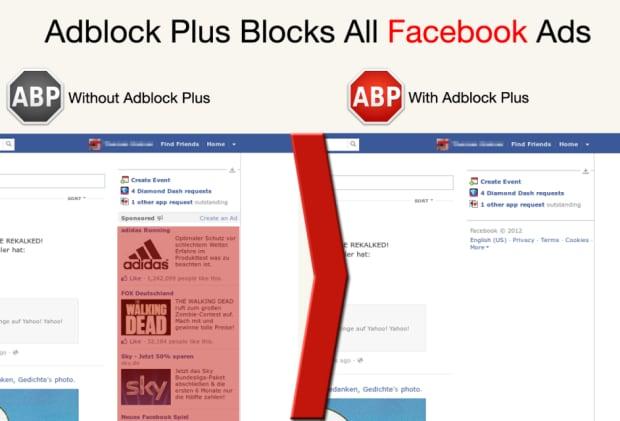 Adblock Plus Facebook ads