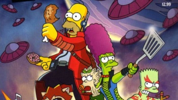 Vancouver-based Ian Boothby is the head writer for the popular Simpsons comics series