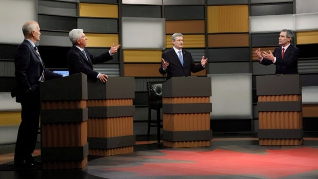 The main federal party leaders debate during the 2011 election, in a debate hosted by the national broadcasters. It is looking increasingly unlikely a similar event will occur this time, as the Conservatives look to change things up.