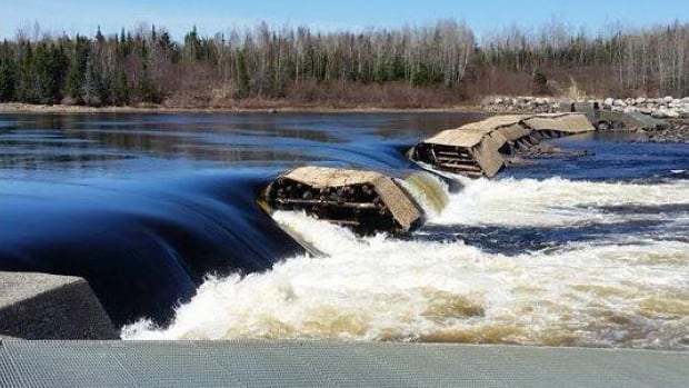 Goodyear's Dam on the Exploits River sustained damage in two areas. Nalcor is warning anglers, hikers and mountain bikers to stay away.