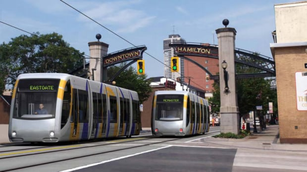 Take A Ride On Hamilton S Proposed Lrt Route Cbc News