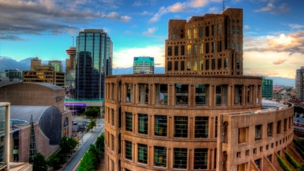 The Vancouver Public Library's Central Branch celebrates its 20th anniversary May 26, 2015.