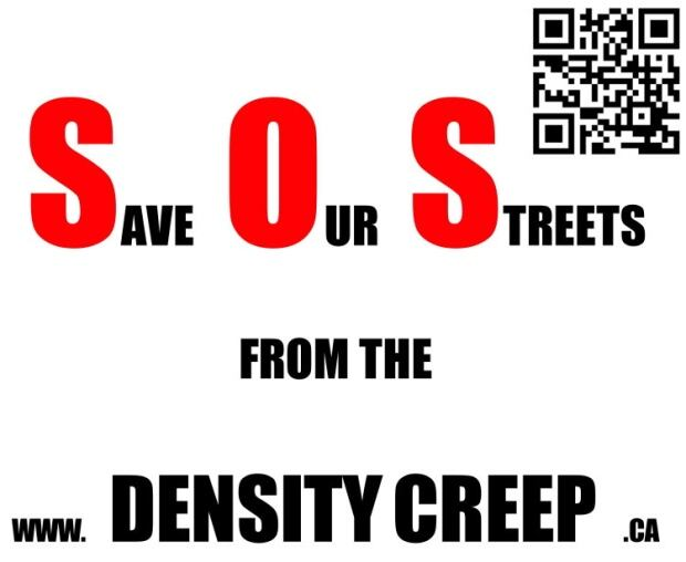 Density Creep Save Our Streets