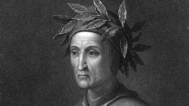 Dante Alighieri (1265 - 1321) the Italian poet, circa 1300.