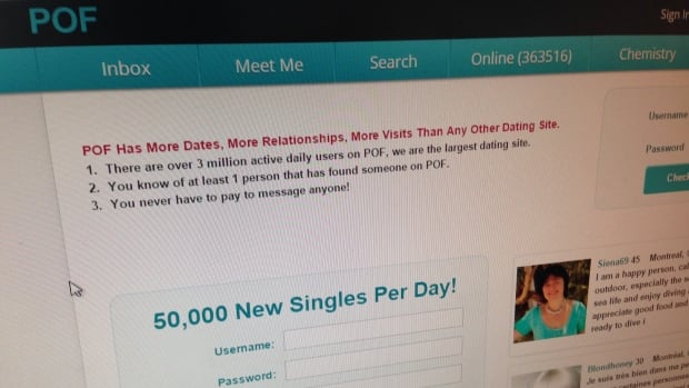 Plenty of Fish (POF) is a popular Vancouver-based online dating website.
