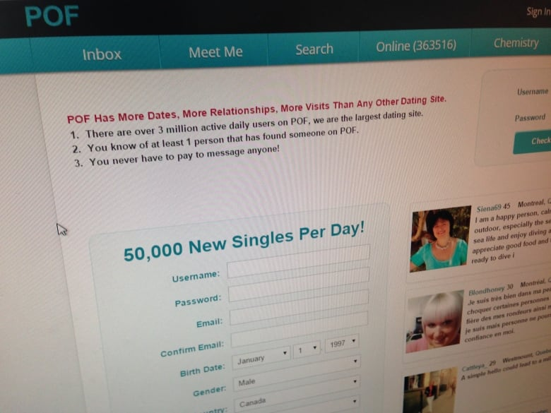 new canada dating site