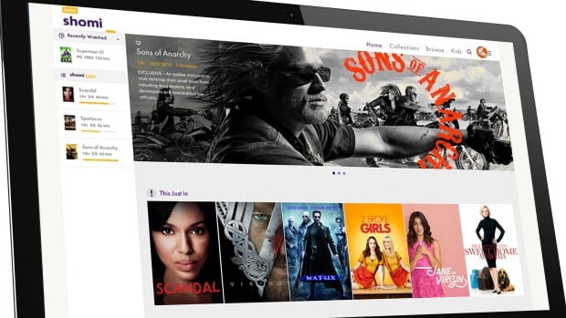 Shomi was launched in 2014 in an effort to grab the attention of a growing number of people watching TV and movies online.