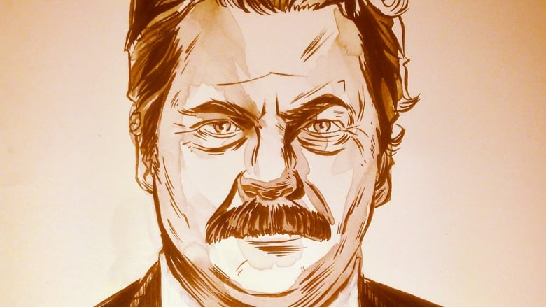 Nick Offerman On His Stache Free Life After Ron Swanson Cbc Radio