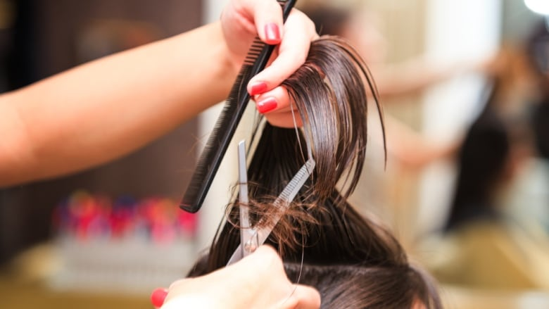 Woman dashes on $150 haircut without paying   CBC News