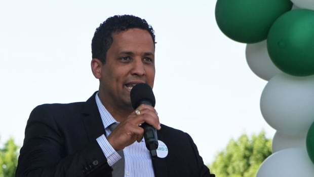 "Coun. Matthew Green convened a ""Proud to be Ward 3"" rally at JC Beemer park to help residents of the ward process the violence in their neighbourhoods and band together against it."