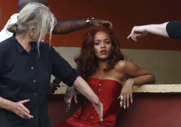 WIP CUBA-ENTERTAINMENT Rihanna May 28 2015 annie leibovitz