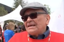 Chief Robert Joseph Reconciliation Canada Ottawa walk May 31 2015