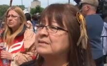 Dorene Bernard Walk for Reconciliation May 31 2015