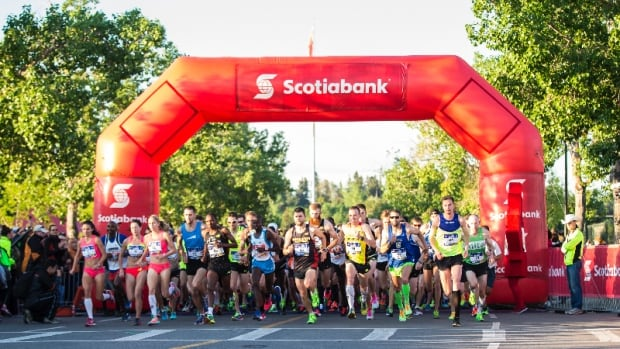 The Calgary Girls Choir is hoping to create a new Guiness World Record that involves running, and singing (obviously.)