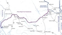 Prince Rupert Gas Transmission Project map