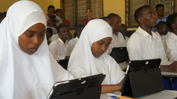 The Vodafone Foundation and the UN Refugee Agency provide tablet-based learning in schools at the Dadaab refugee settlement in Kenya. Aid agencies are finding new ways to offer relief through support from an unexpected source: the corporate sector.
