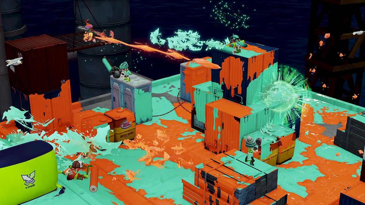 Splatoon: Nintendo unveils a family-friendly shooter game