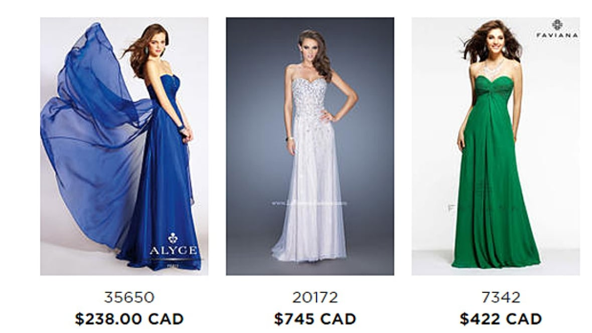 Prom dress online canadian cheapest