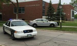 Police at Kelvin