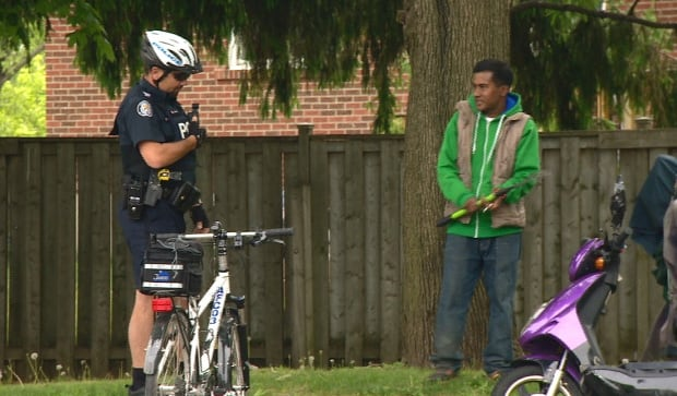 Toronto police body cameras
