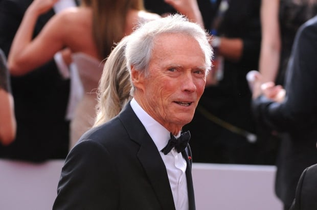 Clint Eastwood - 87th Academy Awards - Fan Bleacher Arrivals