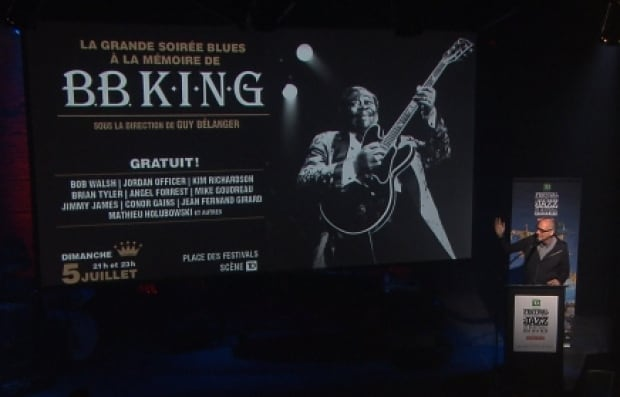 Montreal Jazz Fest B.B. King