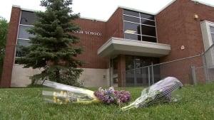 Flowers at Kelvin High School