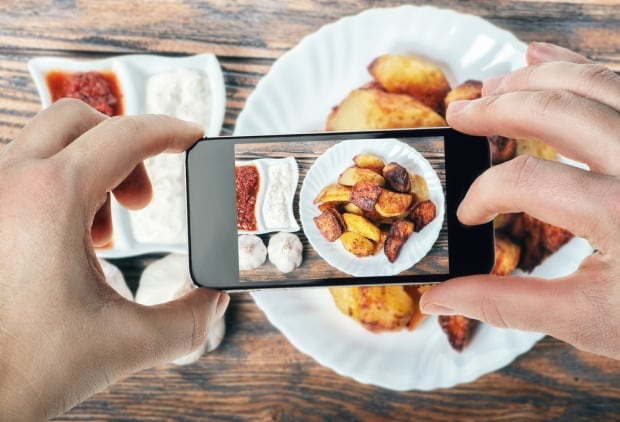 Instagram calorie counting tech