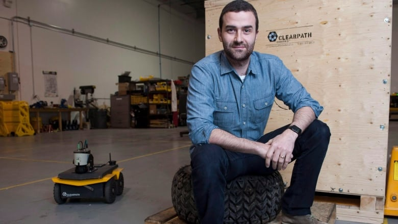 Kitchener's Clearpath Robotics will use $30M US investment