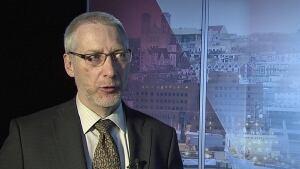 Gilbert Bennett Nalcor vice-president Lower Churchill CBC
