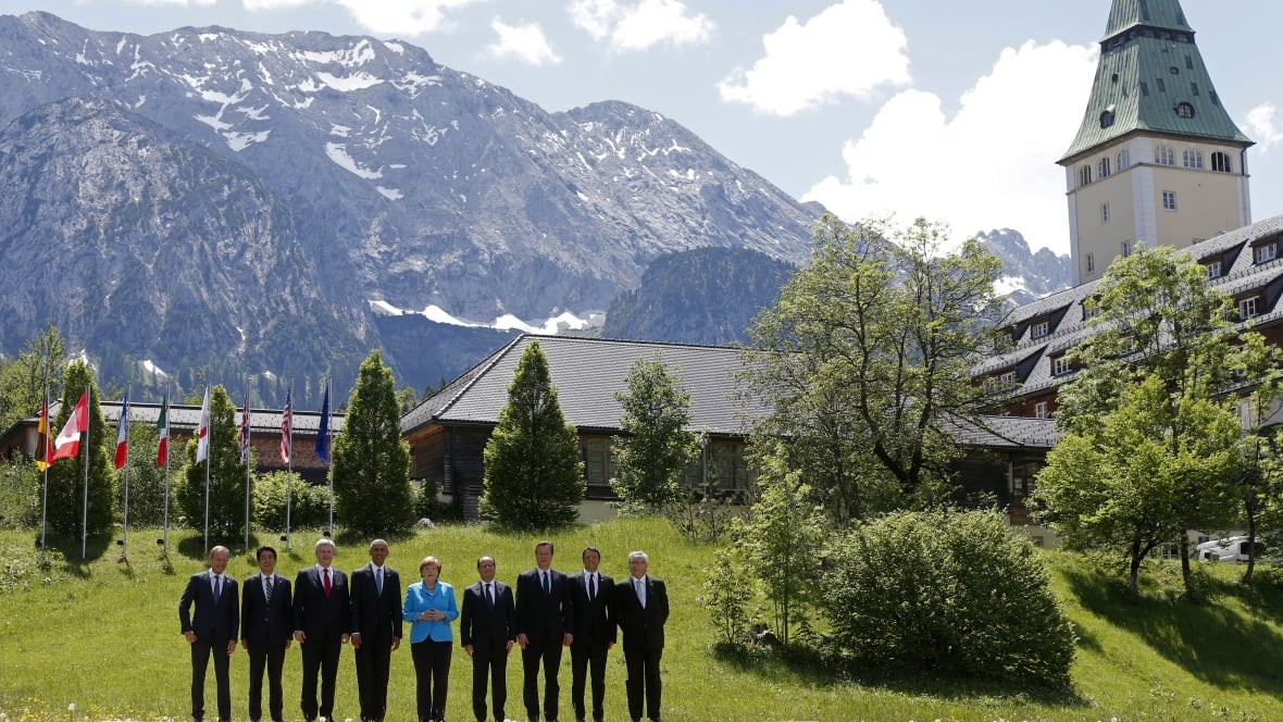 Harper Uses G7 Summit To Push For Canada Eu Free Trade Agreement