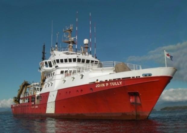 Canadian Coast Guard Service John P. Tully