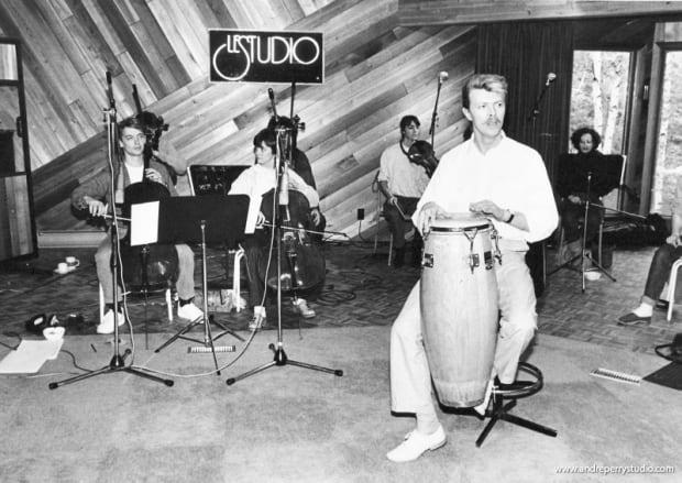 David Bowie Le studio