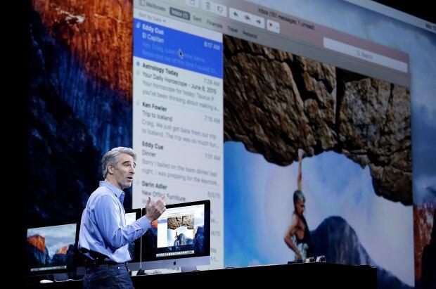 OS X El Capitan Craig Federighi