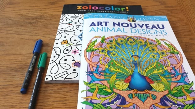 One Calgary art supply store says it's selling at least 50 adult colouring books per week.