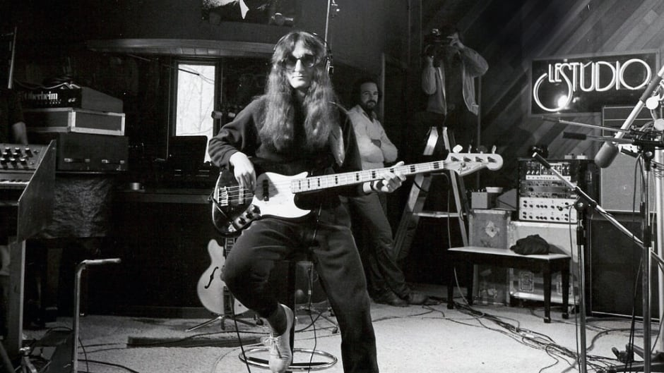 Rush lead singer Geddy Lee at Le Studio in an undated photo. Rush recorded several albums and a few music videos at the Morin Heights studio.