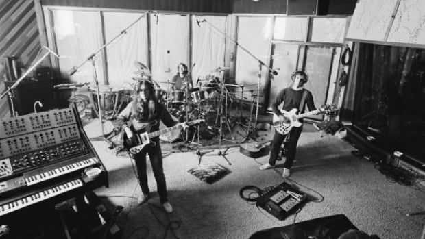 Rush recording their album Permanent Waves at Le Studio in October 1979. The building, which hasn't been occupied in some time, is now in a state of significant disrepair.