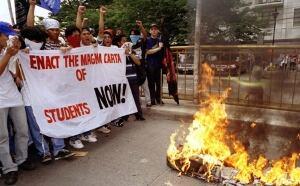Filipino student protest 1997
