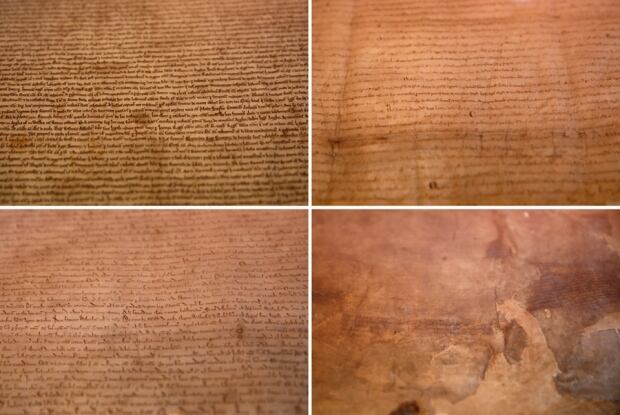 4 surviving 1215 Magna Cartas