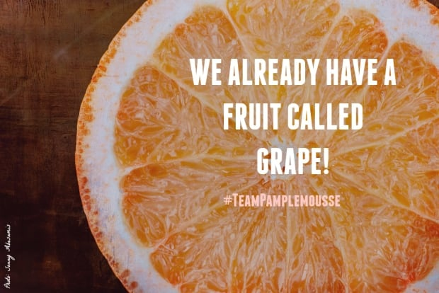 Grapefruit gripe