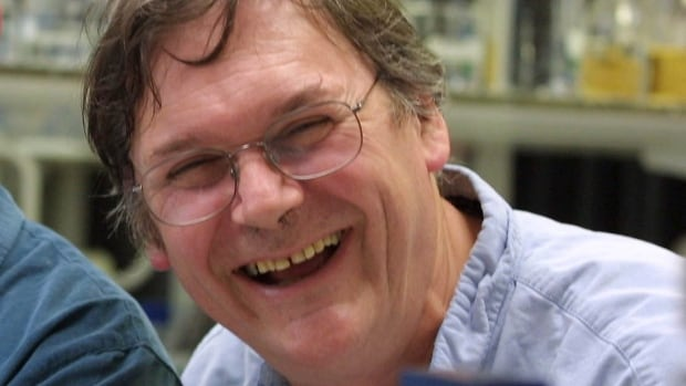 British scientist Tim Hunt — seen here in 2001, the same year he won the Nobel Prize — has apologized for comments he made about his 'trouble' with females in science laboratories.
