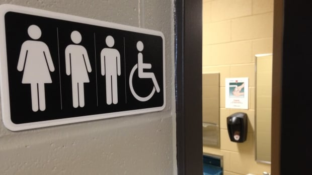 Trump administration revokes transgender washroom guidelines cbc news for Support for transgender bathrooms