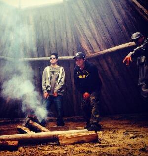 NorthStars - Cree hip hop teepee