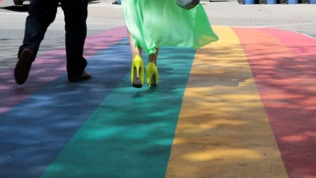 Community rallies behind Merritt students after rainbow crosswalk rejected by city council thumbnail