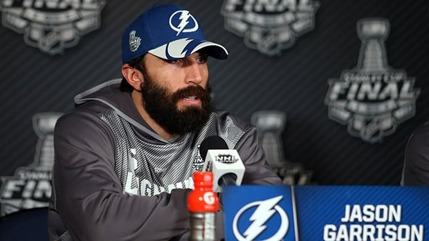 Hirsute Tampa Bay defenceman Jason Garrison is one of the players who doesn't see playoff beards going away.