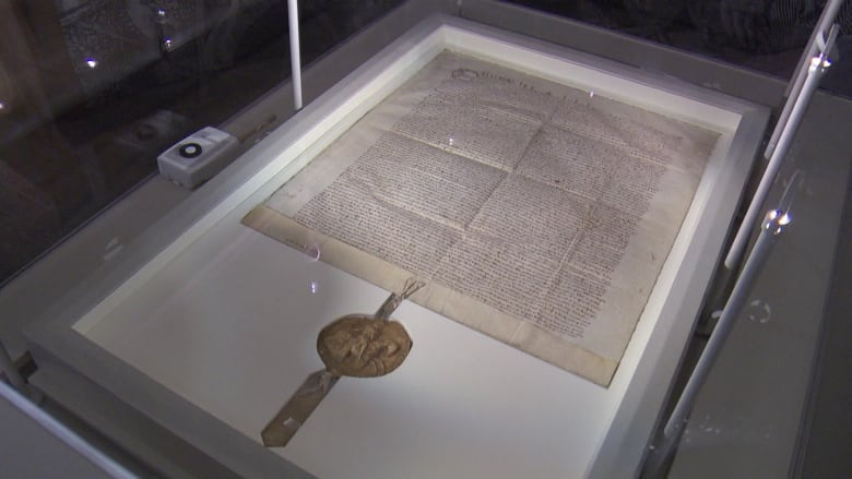 Magna carta on display at canadian museum of history june 12 july 26 the 1300 copy of the magna carta is on display at the canadian museum of history from friday until july 26 cbc news malvernweather Images