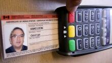 Status Card in debit machine