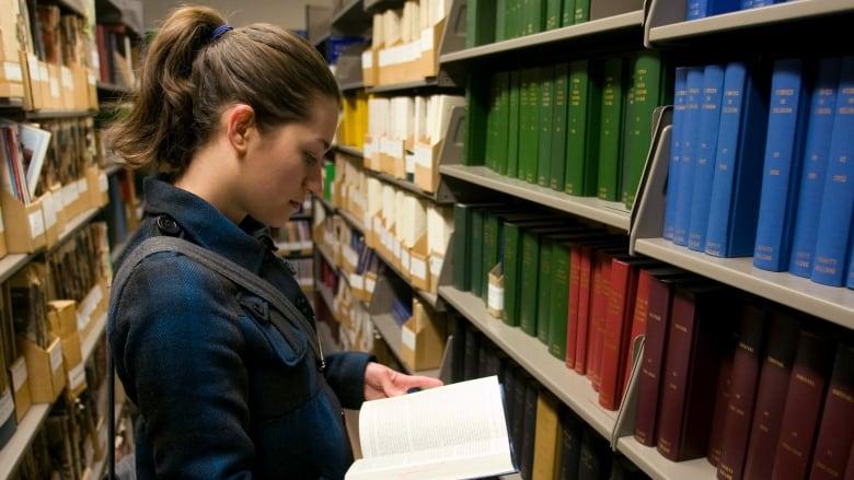 University of Toronto library student bound journals